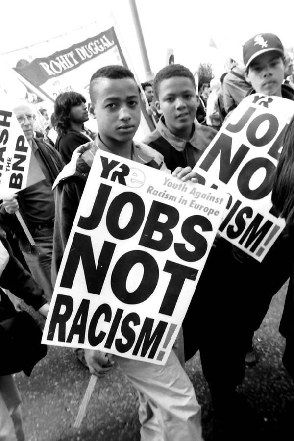 Anti-Racist demonstration, South London c.1990