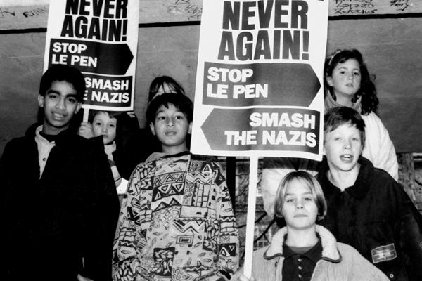 Tower Hamlets Le Pen protest 1991