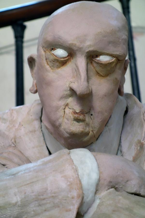 Sculpture by artist May Ayres St John 2016