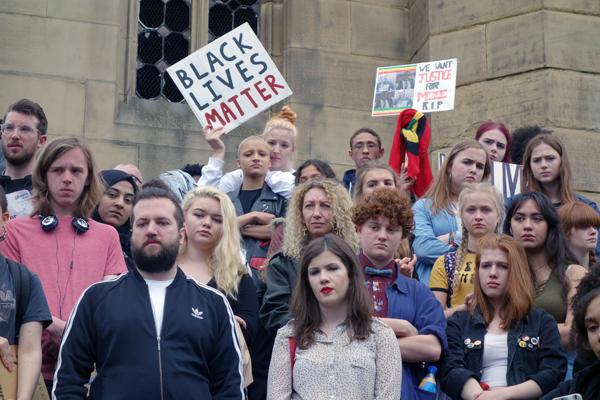 Black Lives Matter, Liverpool 2016