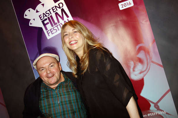 With festival Director Alison Poltock