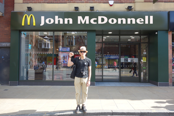Under a Corbyn government the fast food industry will be abolished