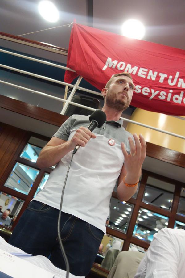 Ross Quinn, UNITE shop steward