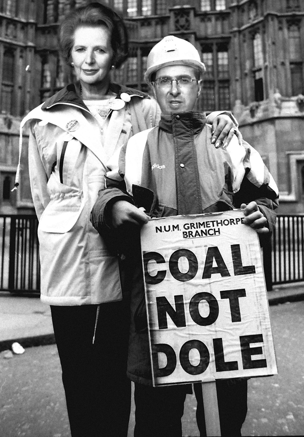 Owen Smith during the Miners Strike