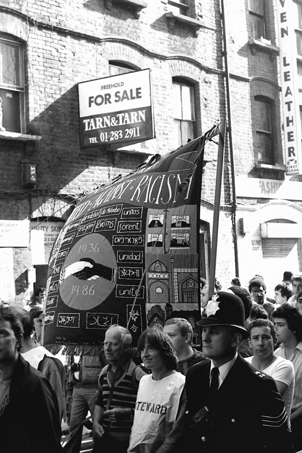 Cable Street 50th anniversary March 1986