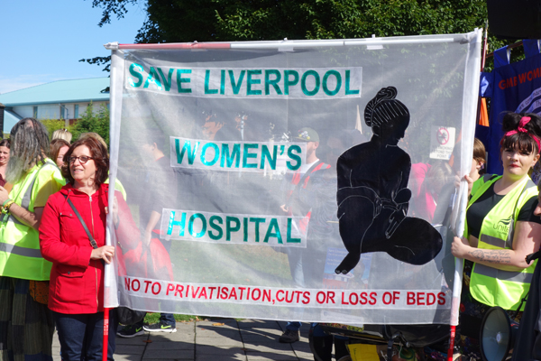 Save Liverpool Women's Hospital 2016