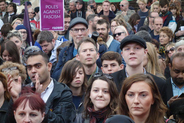 80th anniversary Cable Street Rally 2016