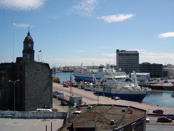 Aberdeen Harbour 2004