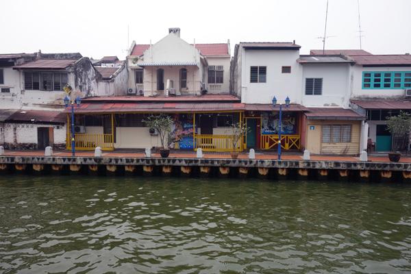 River. Melaka 2015