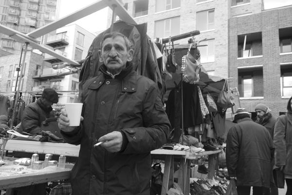 Sclater Street market, London 2016