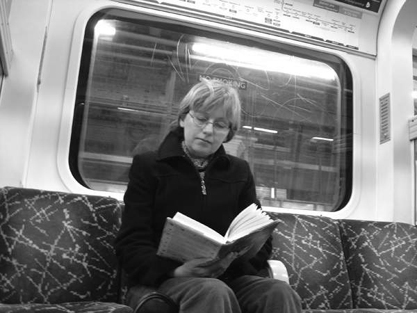 Reading on the London Underground 2004