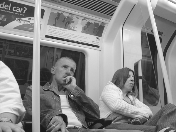 Thinking on the London Underground 2004