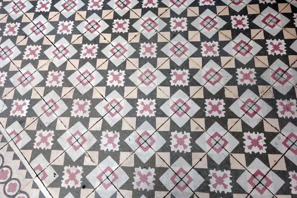Floor tiles, Melaka 2015