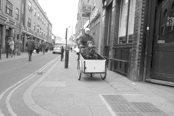Sustainable transport, Brick Lane 2013