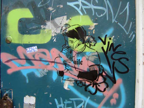 Graffiti, Brick Lane 2004