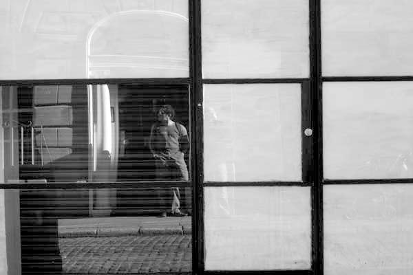 Reflection. Dublin, Ireland 2004