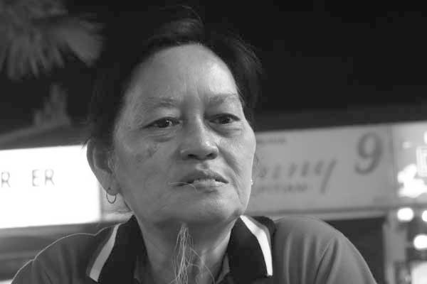 Chinese woman. Melaka, Malaysia February 2017