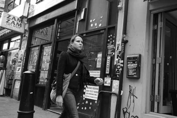 Woman. Brick Lane, London 2014.