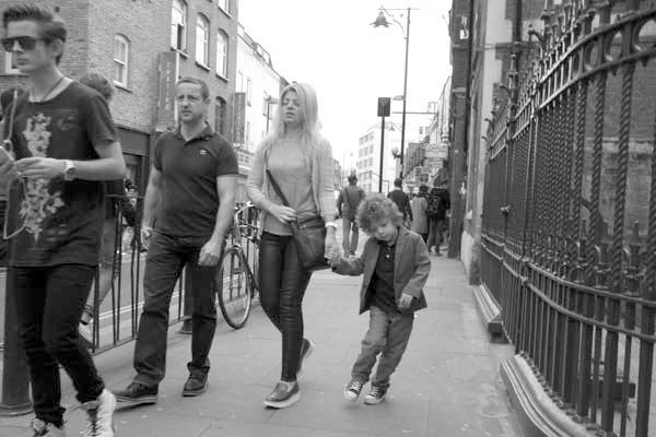 Child. Brick Lane, London 2014.