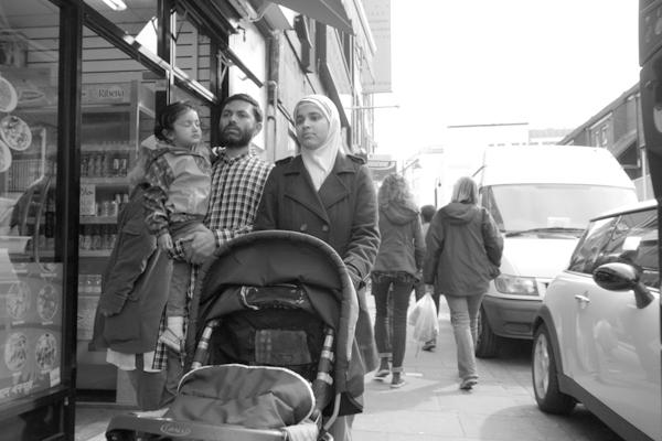 Family. Brick Lane, London 2014.
