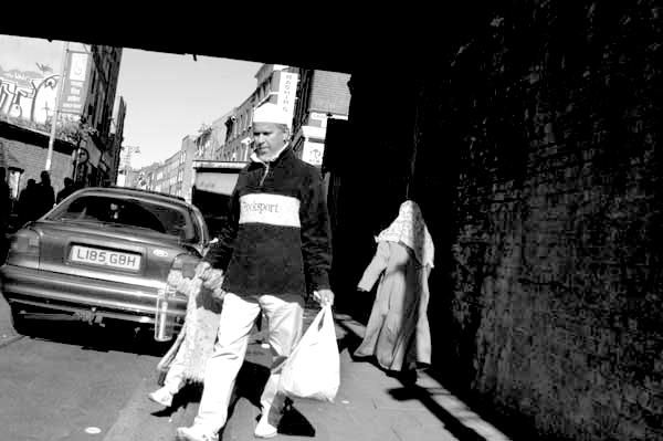 Bridge. Brick Lane, London 2003.