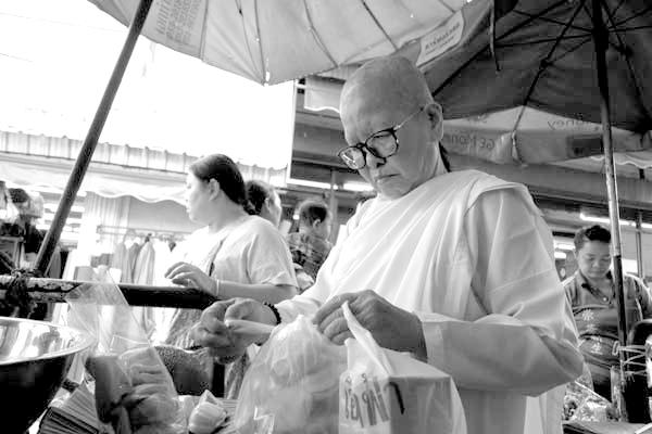 Monk.Chaing Mai, Thailand 2017.