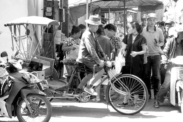 Rickshaw. Chaing Mai, Thailand 2017.