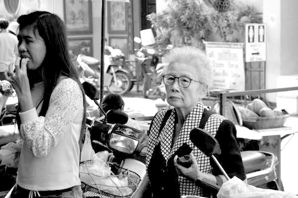 Woman. Chaing Mai, Thailand 2017.