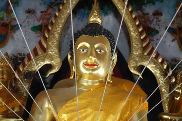 Buddha. Chaing Mai, Thailand 2017.
