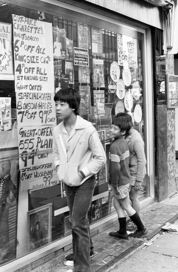 Children on the street. Liverpool c.1979