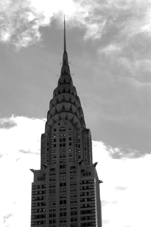 Chrysler building. New York 2005.
