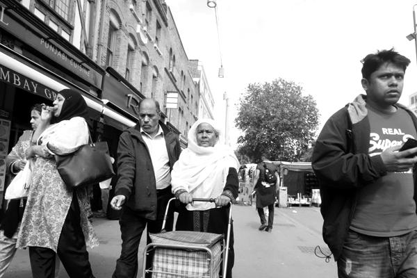 Whitechapel, London 2015.