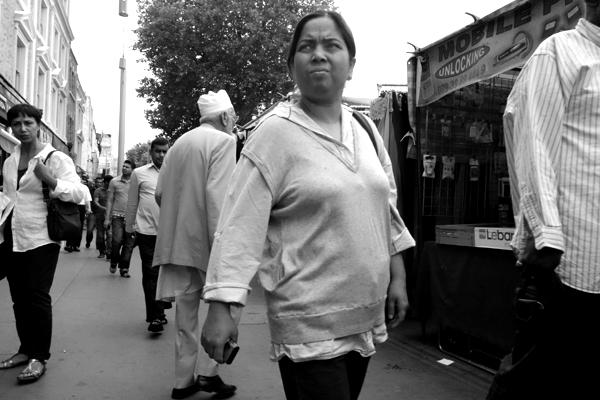Woman. Whitechapel, London 2013.