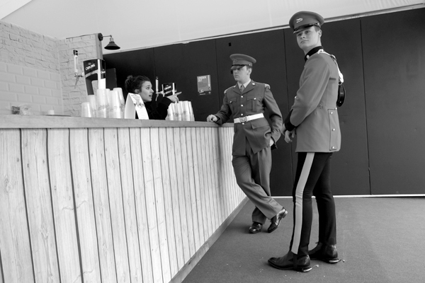 Soldiers. Aintree 2017.