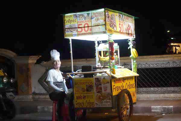 Street food. Chaing Mai, Thailand 2017.