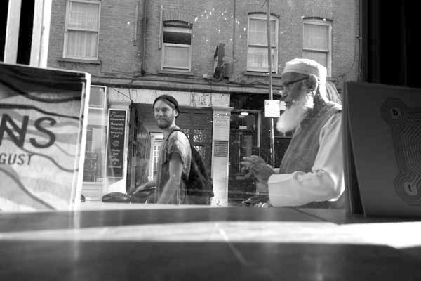 Hanbury Street, Spitalfields 2014.