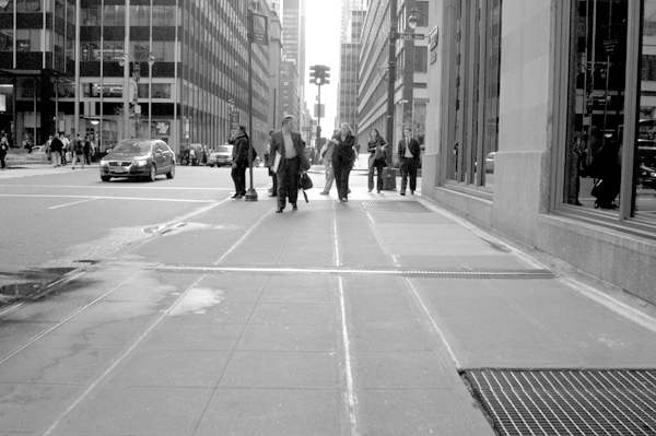 The street. New York 2005.