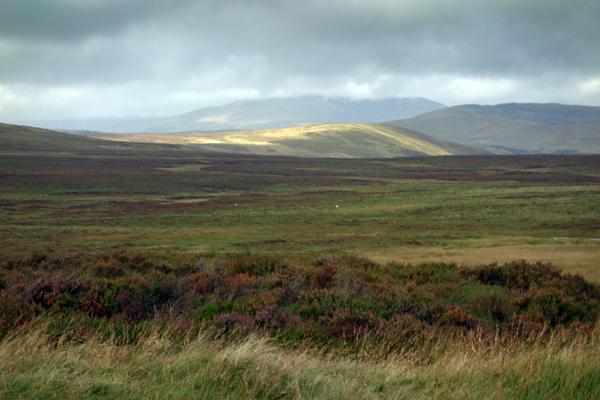 Distant mountains. Snowdonia, Wales 2016.