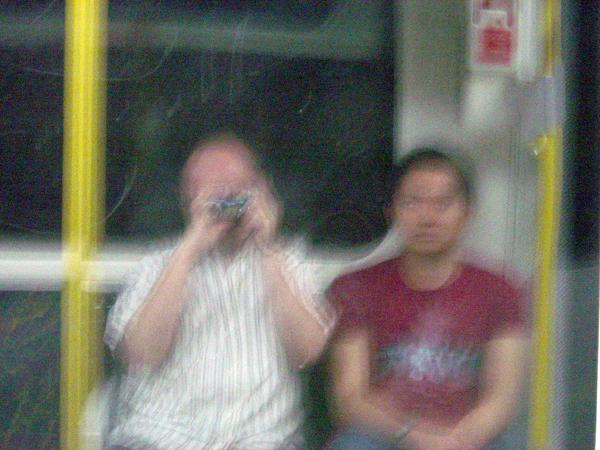 Self portrait with Hazuan Hashim. London 2004.