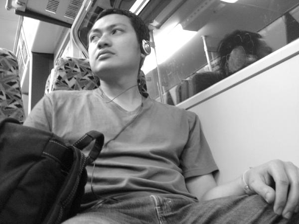 Hazuan Hashim, London 2004.