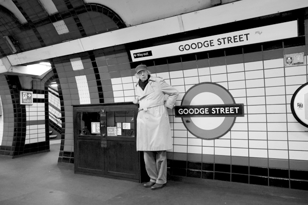 Goodge Street Underground. London 2017.