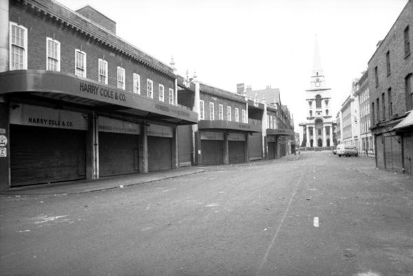 Spitalfields market, London c.1988.