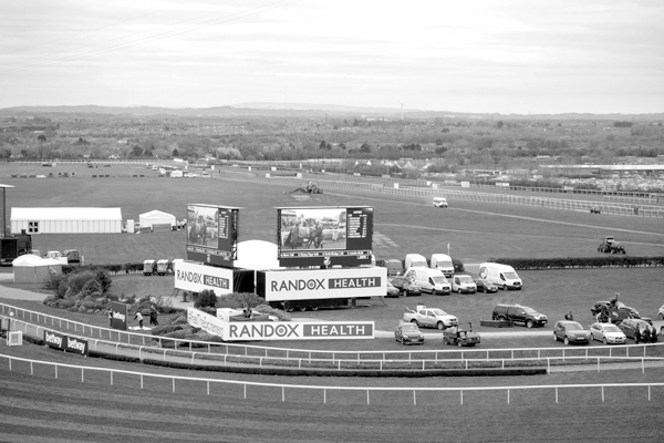 The race course. Aintree 2017.