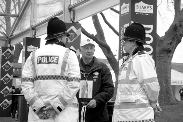 Police. Aintree 2017.