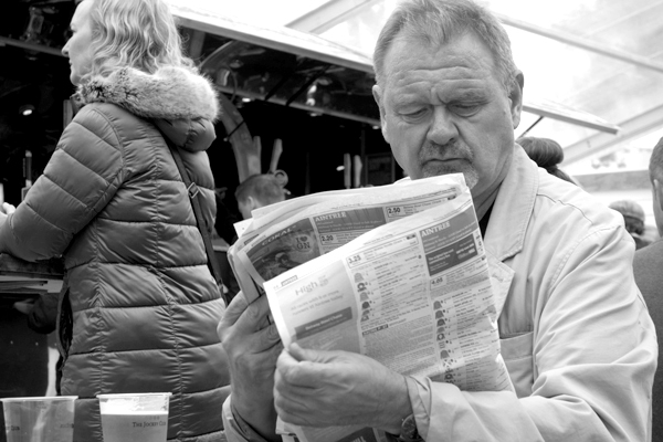 Studying form. Aintree 2017.