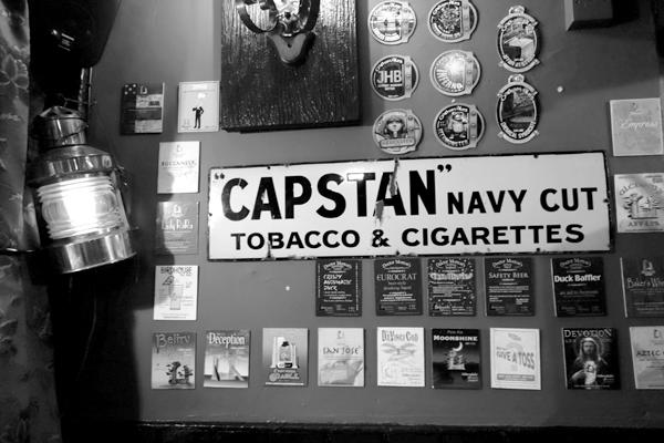 Capstan cigarettes. Caernarfon 2016.