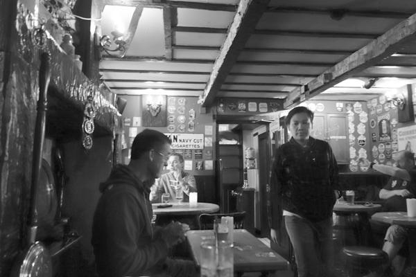 Inside the Inn. Caernarfon 2016.
