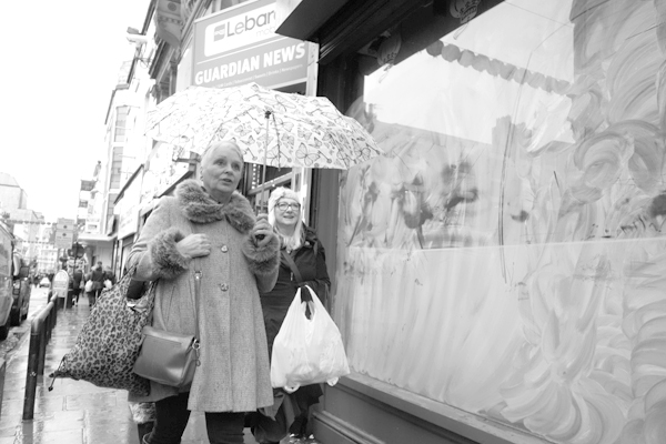 Umbrella. Bold Street, Liverpool 2017.