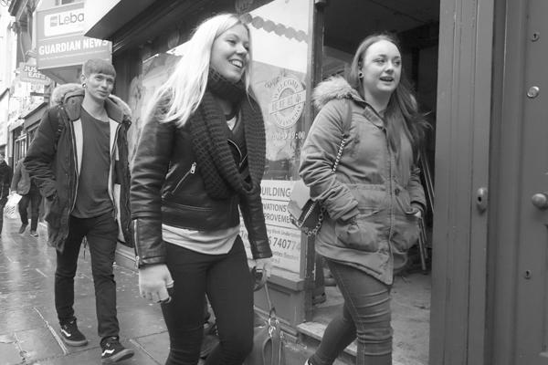 Smiles. Bold Street, Liverpool 2017.