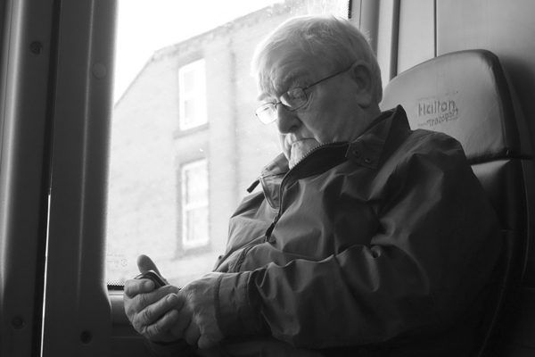 On the bus. Liverpool May 2017.